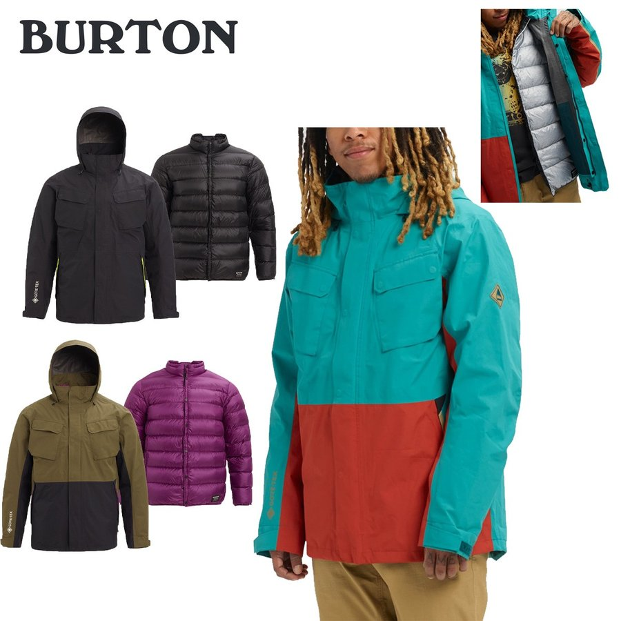 BURTON バートン 19-20 Men's Burton GORE-TEX Edgecomb Insulator Jacket