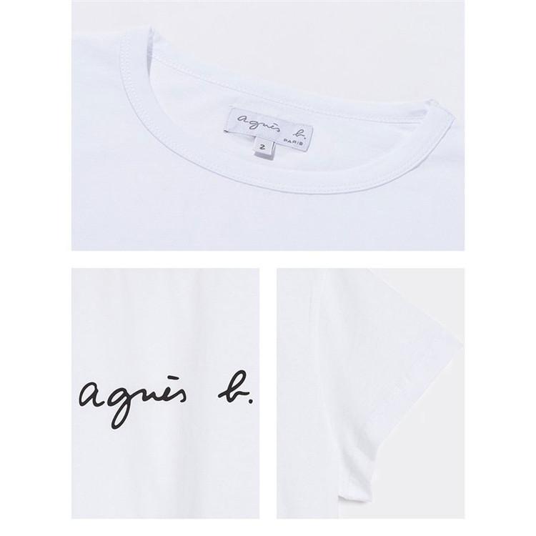在庫処分 agnes b. アニエスベー  Tシャツ 半袖 カットソー ロゴTシャツ コットン   レディース メンズ  |masao-1120|07