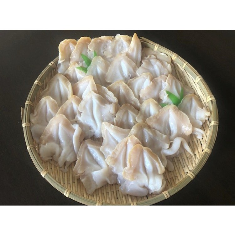 ツブ つぶ 冷凍開きツブ ロシア産 北海道加工 1kg入 1kgに20〜40枚入 お刺身用 条件付き送料無料 ギフト お歳暮|masaoshoten|05