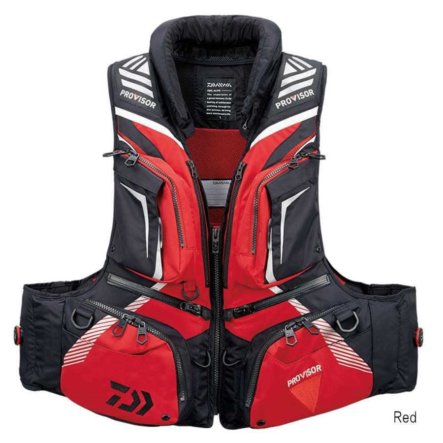 ダイワ プロバイザー バリアテック 枕付きサイバーフロート DF-3208 L Red
