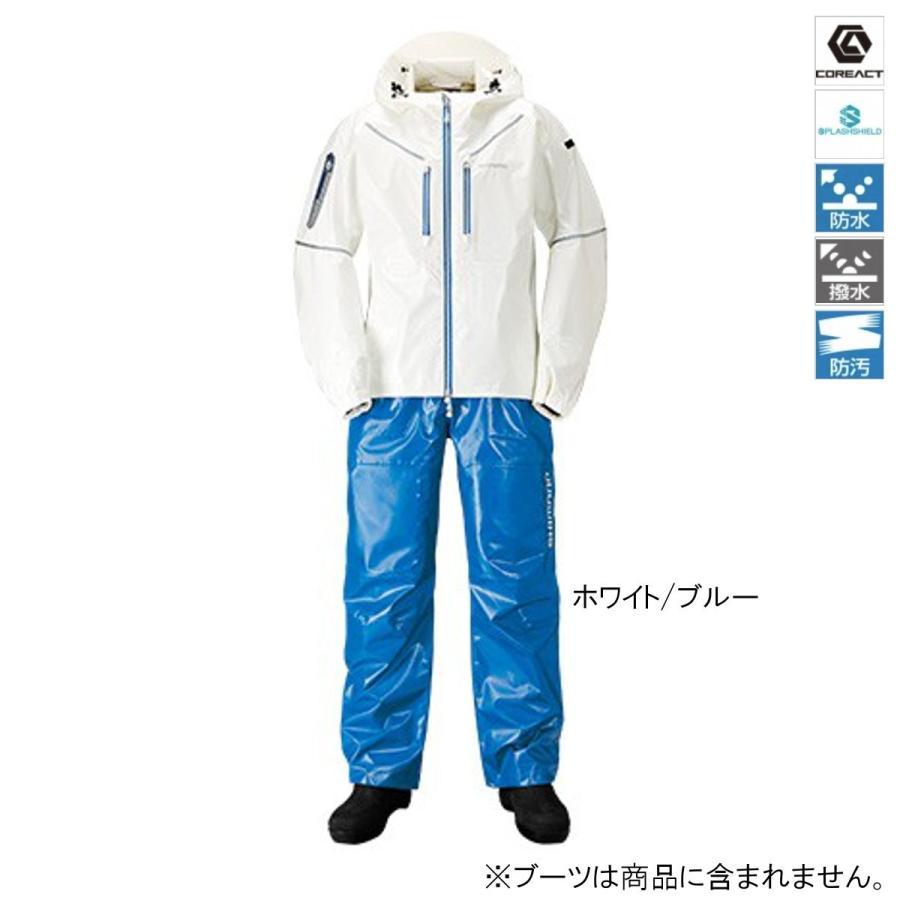 シマノ SS・3Dマリンスーツ RA-033R M ホワイト/ブルー