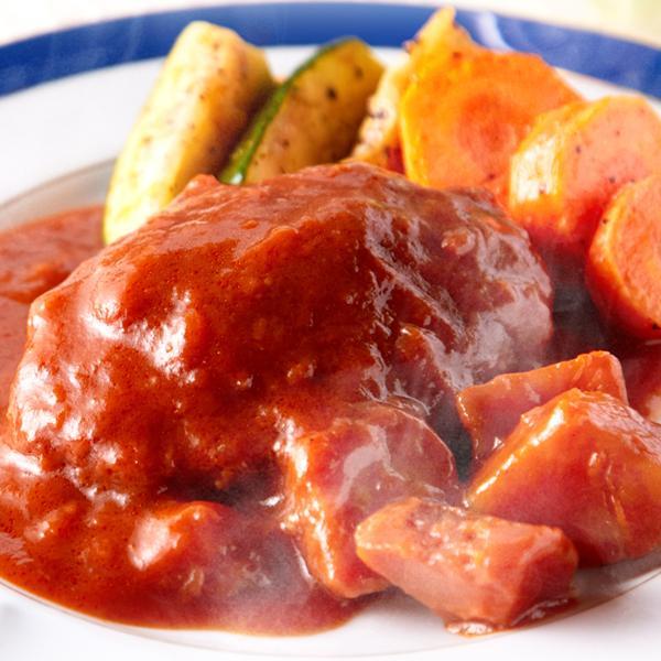 煮込みハンバーグ 野菜入りデミグラス 約200g3袋 ポイント消化 送料無料 ゆうパケット 国産 ハンバーグ レトルト|masuters-mart|06