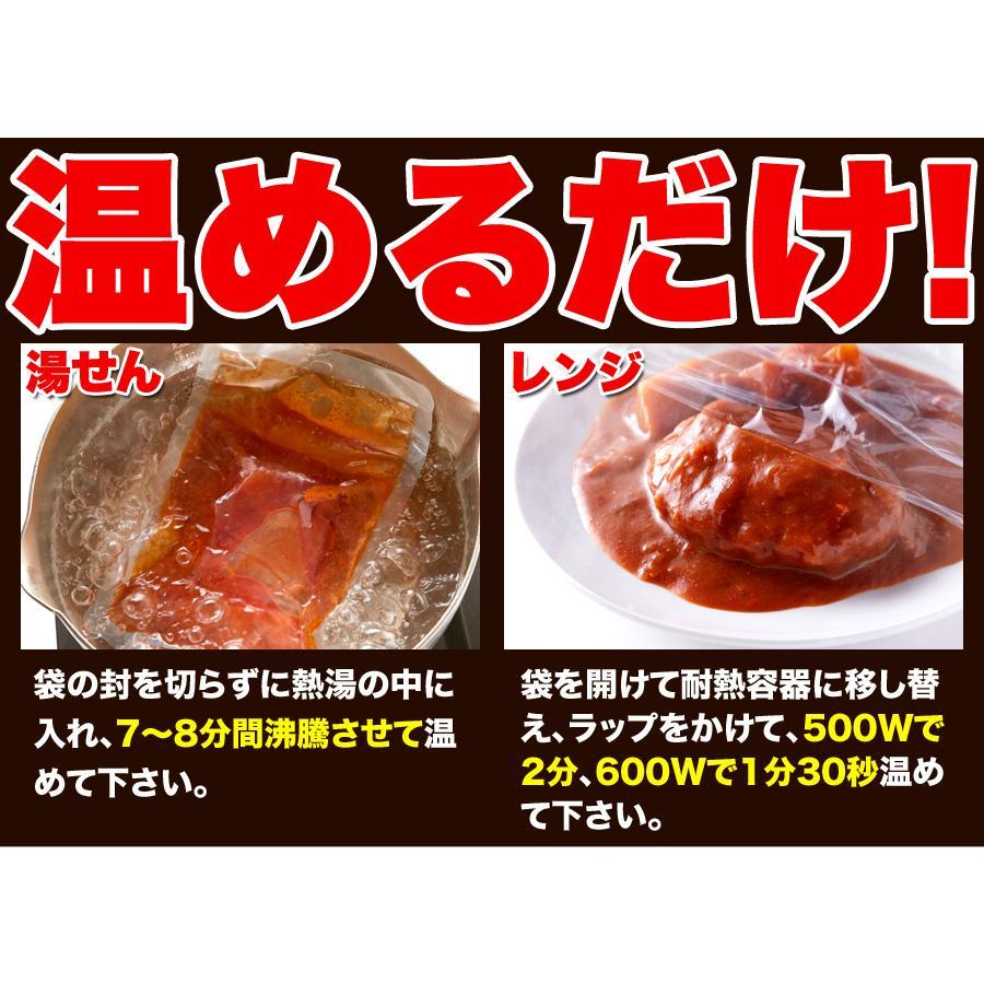 煮込みハンバーグ 野菜入りデミグラス 約200g3袋 ポイント消化 送料無料 ゆうパケット 国産 ハンバーグ レトルト|masuters-mart|10