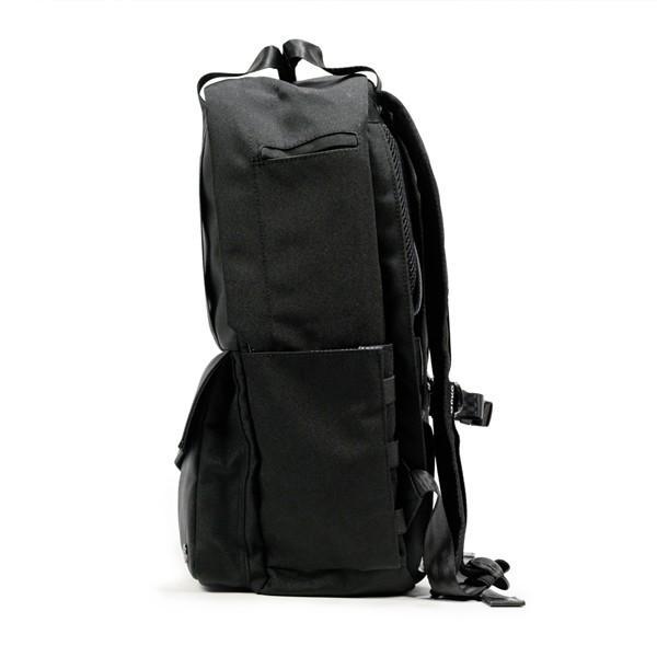 代理店保証付 PKG(ピーケージー) ROSSEAU MID  サイズ:H45.7cm W29.2cm D12.7cm/容量:19L ※本体ブラック持ち手等革付属部分は、茶色です※ masuya-bag 11