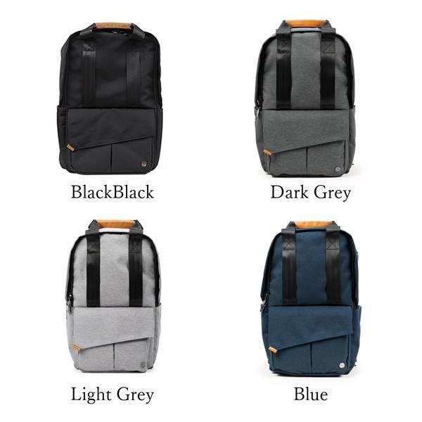 代理店保証付 PKG(ピーケージー) ROSSEAU MID  サイズ:H45.7cm W29.2cm D12.7cm/容量:19L ※本体ブラック持ち手等革付属部分は、茶色です※ masuya-bag 17