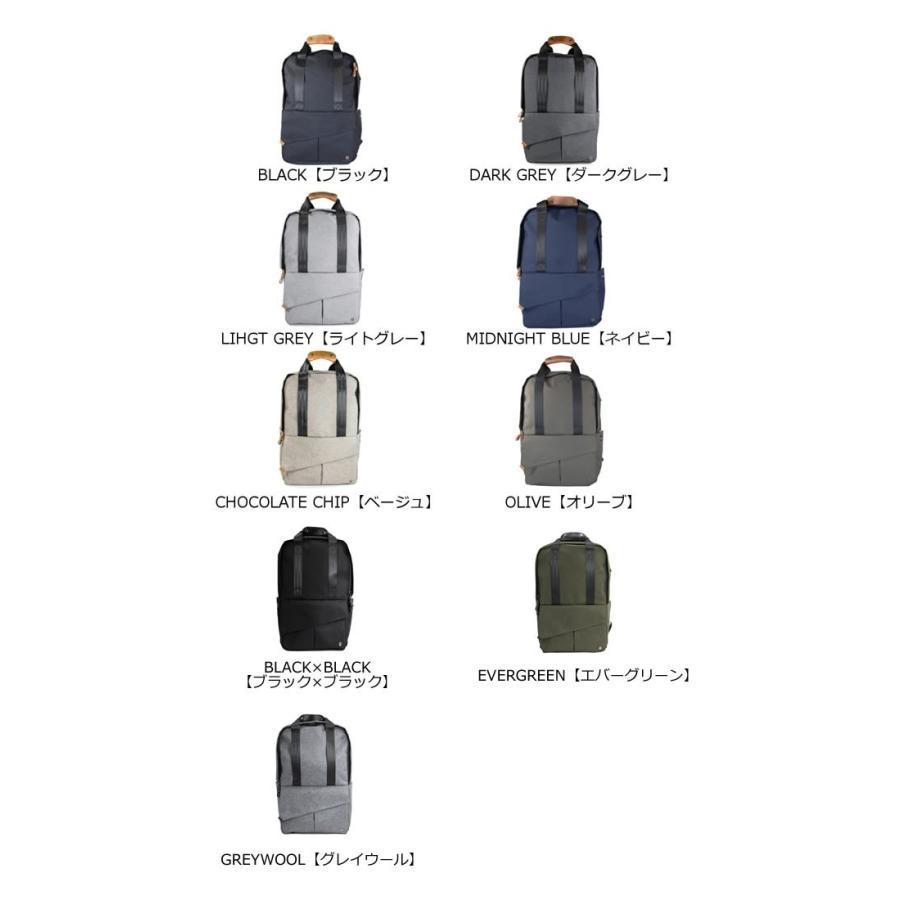 代理店保証付 PKG(ピーケージー) ROSSEAU MID  サイズ:H45.7cm W29.2cm D12.7cm/容量:19L ※本体ブラック持ち手等革付属部分は、茶色です※ masuya-bag 03