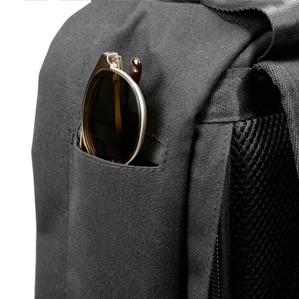 代理店保証付 PKG(ピーケージー) ROSSEAU MID  サイズ:H45.7cm W29.2cm D12.7cm/容量:19L ※本体ブラック持ち手等革付属部分は、茶色です※ masuya-bag 06