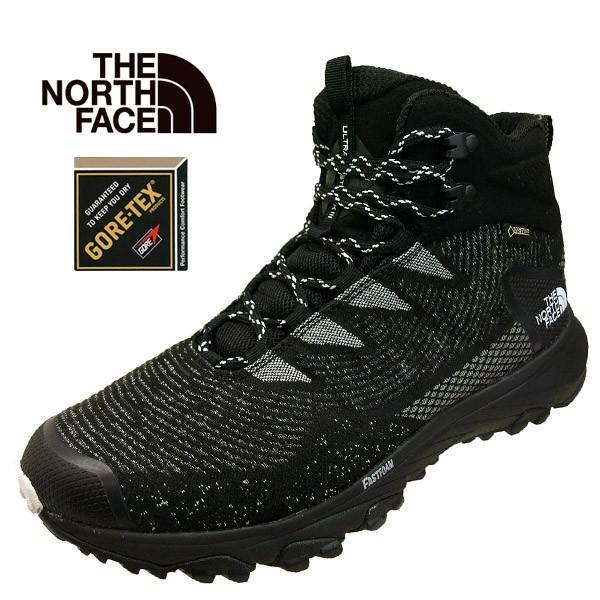 ノースフェース The North Face Ultra Fastpack III Mid Woven GORE-TEX NF01824 KW ウルトラファストパック 3 ミッドウーブン トレッキング 登山靴 防水 メンズ