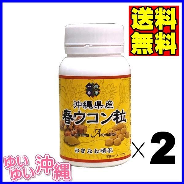 沖縄県産 春ウコン粒 100g(約500粒)×2個|matayoshiyakusouen