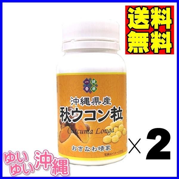 沖縄県産 秋ウコン粒 100g(約500粒)×2個 matayoshiyakusouen