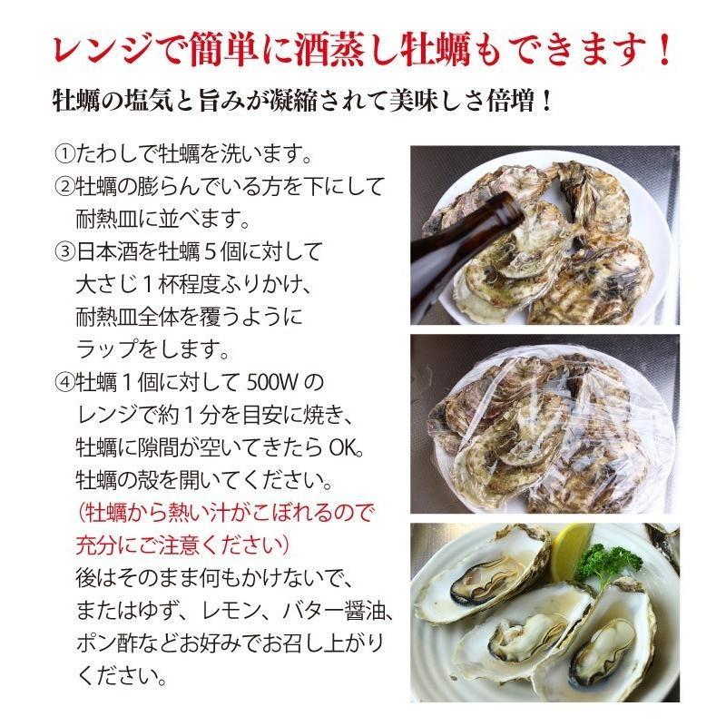 送料無料 宮城県産 殻付き 活牡蠣 3kg ※大小混合で約15~50個【加熱用】|maticyoku|08