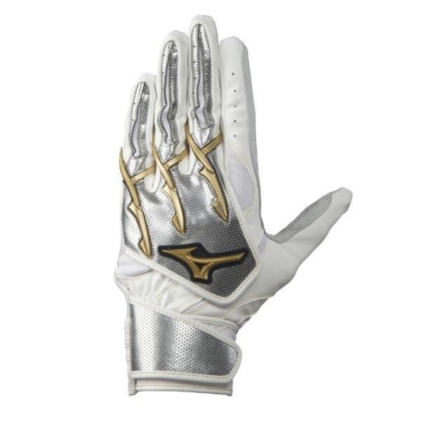 ミズノプロ シリコンパワーアーク W-Leather 19AW限定 1EJEA06301 野球 バッティング手袋