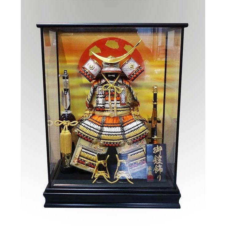 伊達政宗鎧ケース飾り 華風作五月人形 特典付き