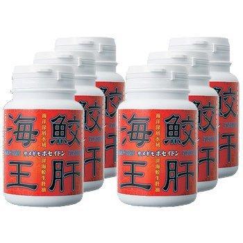エバーライフ 鮫生肝油 「鮫肝海王 (サメギモポセイドン)」 180粒 6本セット