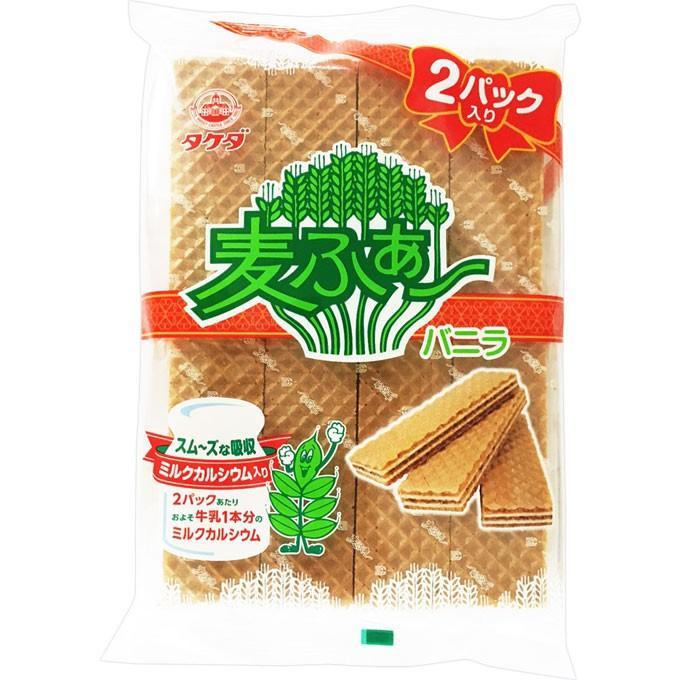 竹田製菓 麦ふぁ〜2パック 16枚 :4901921067102:マツモトキヨシ ...