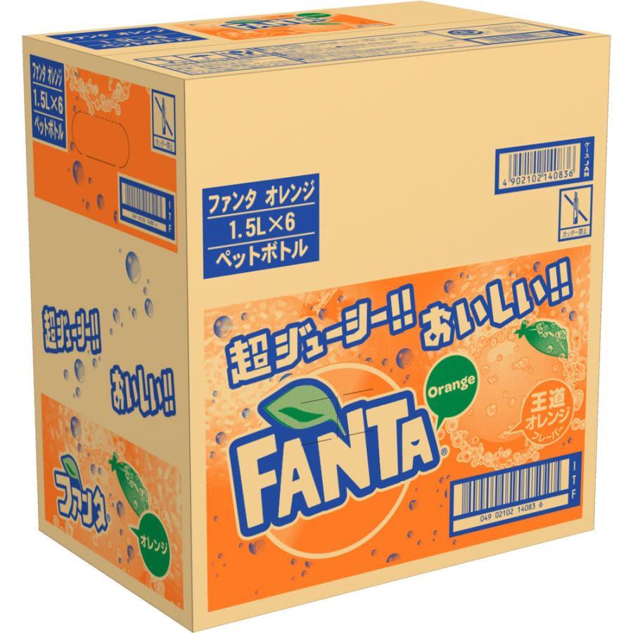 日本コカ・コーラ ファンタ オレンジ ケース 1.5L×6|matsumotokiyoshi