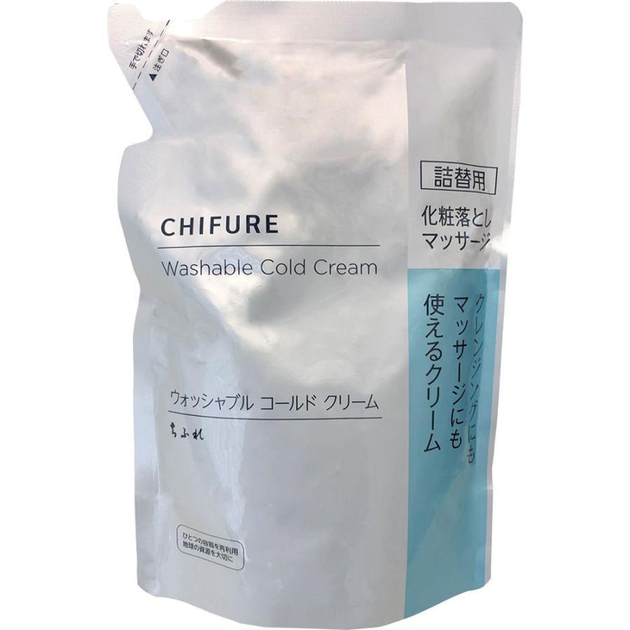 ちふれ化粧品 ちふれ ウォッシャブル コールド クリーム 詰替用 300G|matsumotokiyoshi