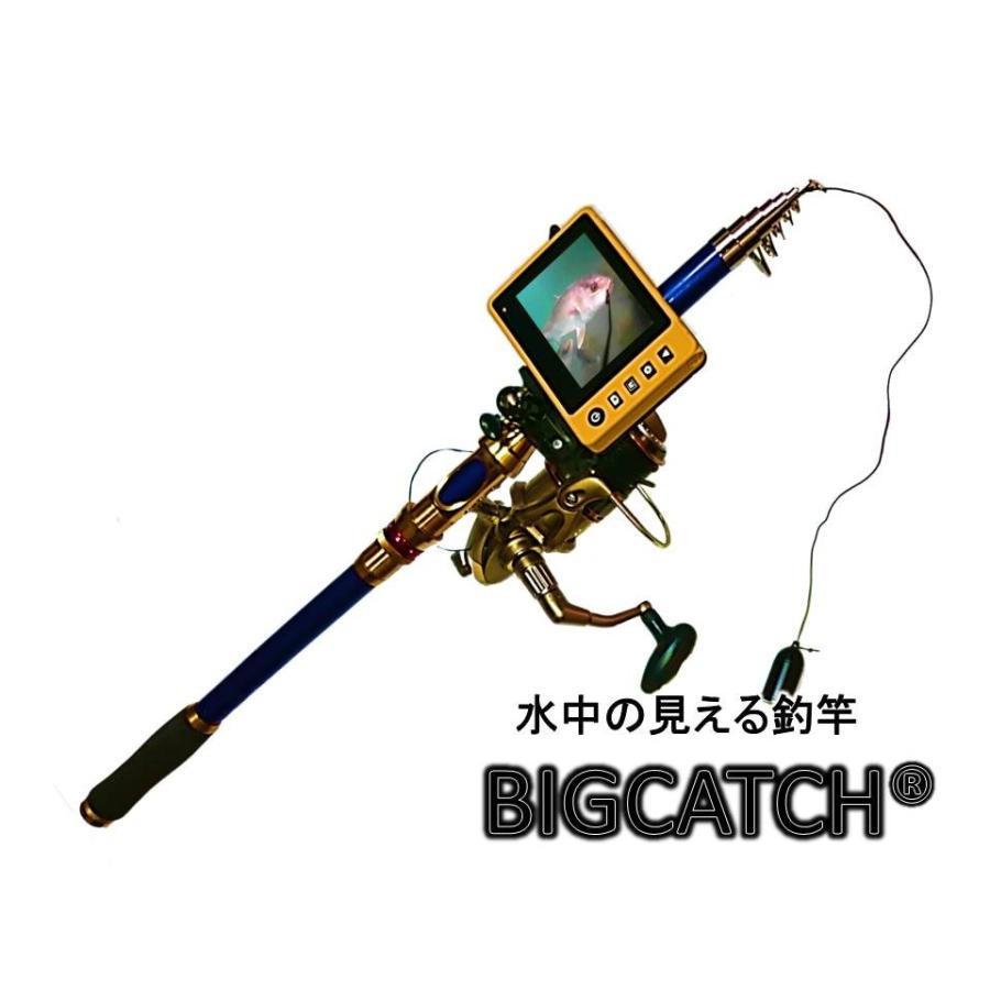 正規品 スピニングリール式ビッグキャッチSP360 釣るとこみるぞう君スピニングリール DY03DF-25  ロッド 水中カメラ 竿