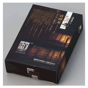 中国茶 健康茶 発酵茶 ギフト 金の花 茯磚茶(源)318g 年末年始セール中 matsurika-jp