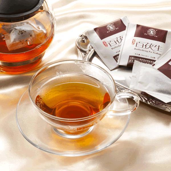 お徳用 中国茶 発酵茶 健康茶 百茯生(ティーバッグ) 年末年始 大容量100回分入り 30%割引セール中|matsurika-jp|02