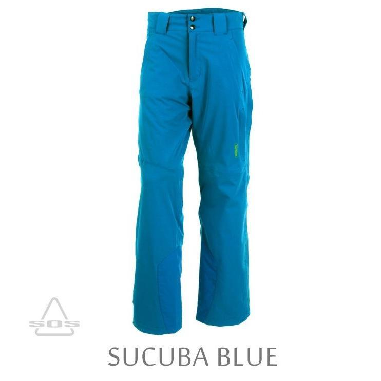 【人気沸騰】 09-10 SOS エスオーエス Ms Drake Pants (Scuba Blue) スキー ウエア パンツ メンズ, オオキマチ b0f1c7de