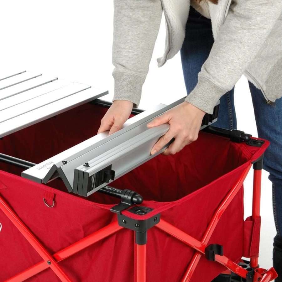 MAULBEERE/マルビーレ FOLDING TABLE サンドベージュ アウトドアキャリーワゴン用 折り畳みテーブル 超軽量1.6Kg 汎用 アウトドアワゴンテーブル キャリーカート maulbeere 09