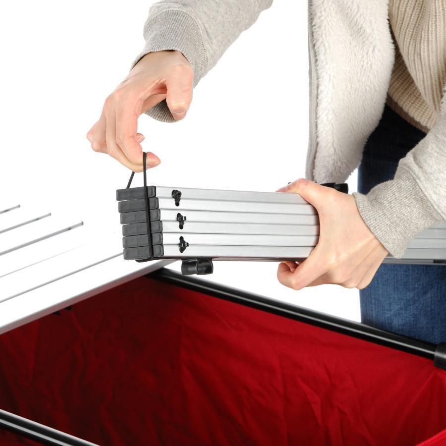 MAULBEERE/マルビーレ FOLDING TABLE サンドベージュ アウトドアキャリーワゴン用 折り畳みテーブル 超軽量1.6Kg 汎用 アウトドアワゴンテーブル キャリーカート maulbeere 10