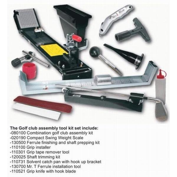 TK-080100 Golf-Mechanix ゴルフクラブ ロフト ライ バランス 測定組立工具 9点ツールキット
