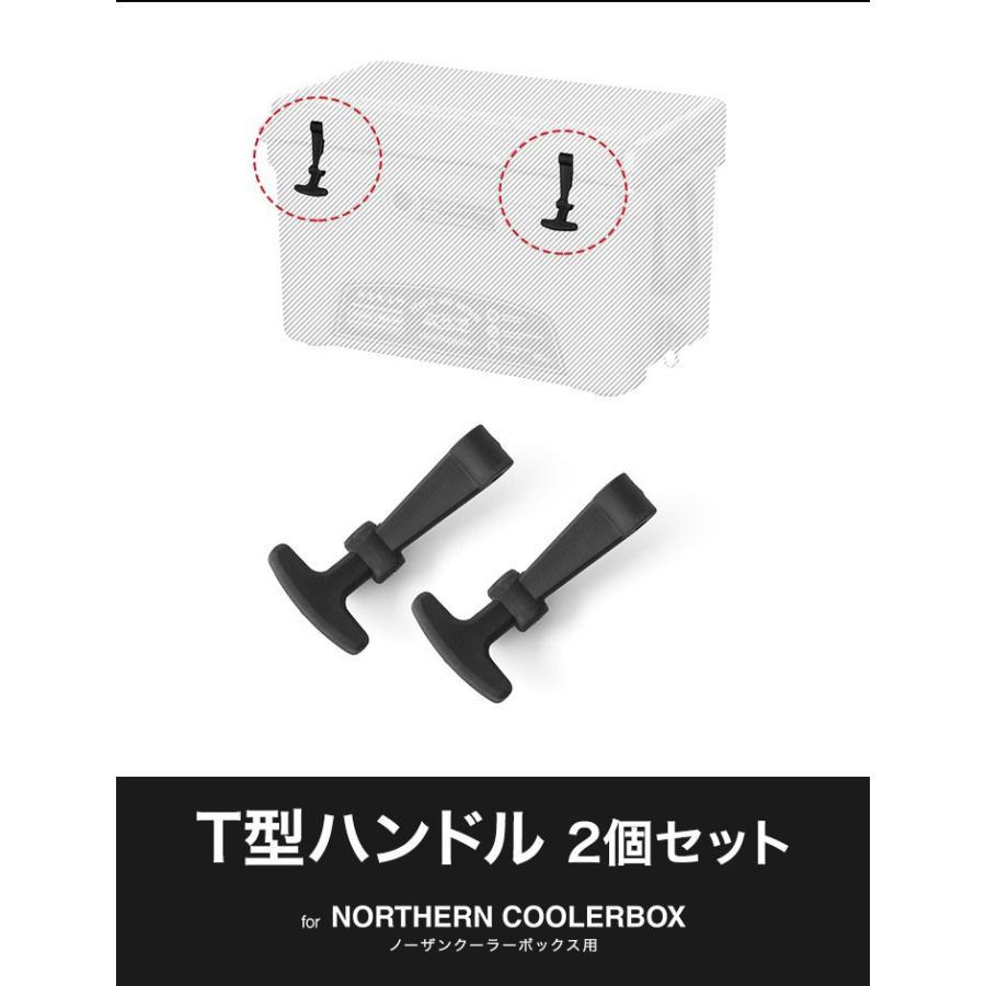 ノーザンクーラーボックス用 T型ハンドル2個セット ハンドル クーラーボックス ノーザンクーラーボックス FIELDOOR 送料無料|maxshare|02