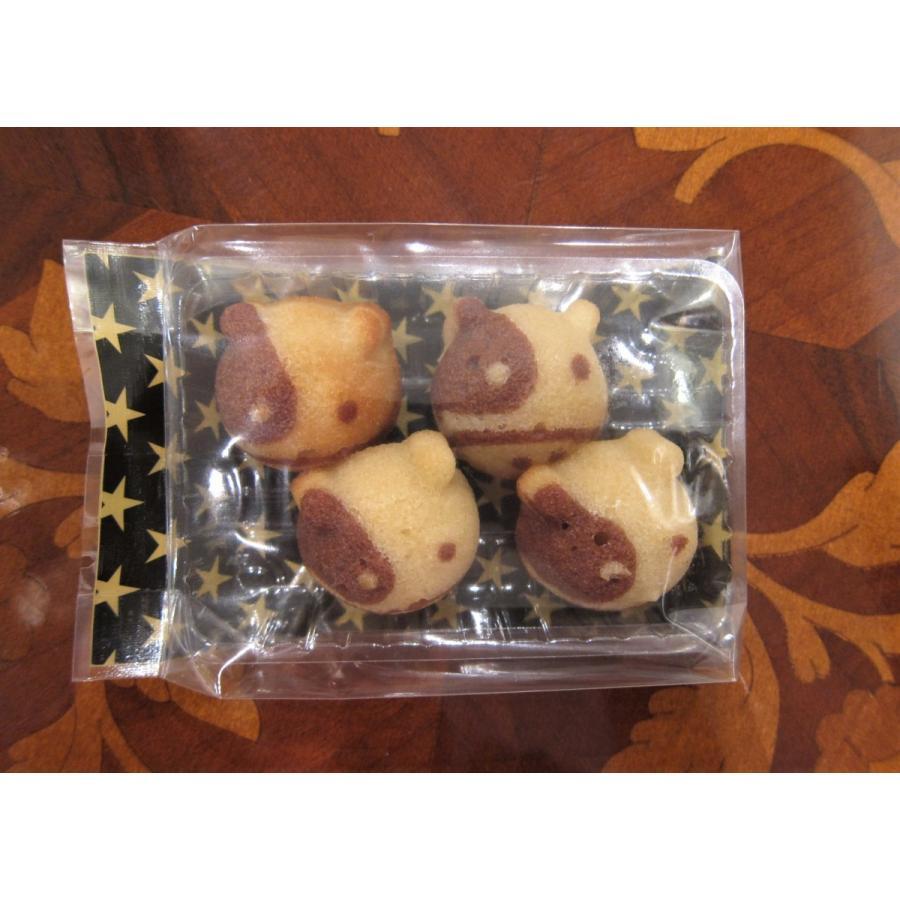 【うしさんフィナンシェ】(4個入り)要冷蔵、フィナンシェで作った干支の牛のお菓子、新年のちょっとしたプレゼントにおすすめ|mayfair-net|02