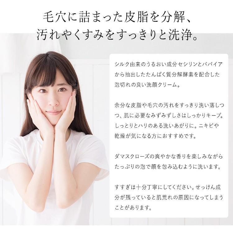 洗顔 まゆ美水 マイルドウォッシュ 150g シルク配合 パパイン酵素洗顔|mayubisui|02