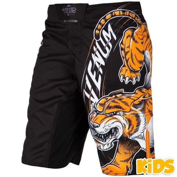 VENUM[ヴェヌム] キッズファイトショーツ Tiger King タイガー・キング (黒)