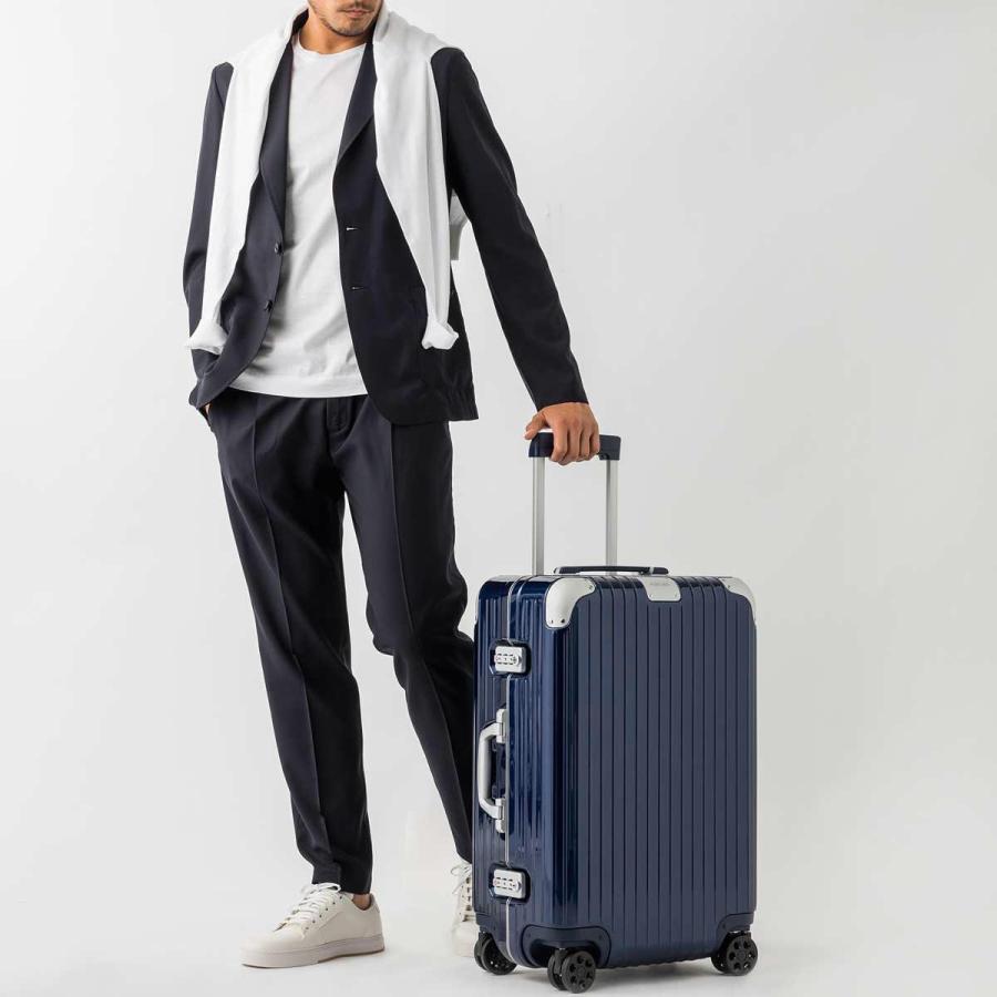 リモワ RIMOWA スーツケース HYBRID Check-In M ハイブリッド チェックイン 62L ブルー メンズ レディース 883.63.60.4.0.1|mb-y|03
