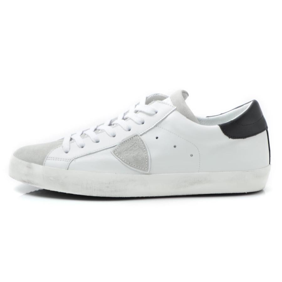 Philippe Model Paris CLLU 1003 scarpe sneakers paris basic blanc gris