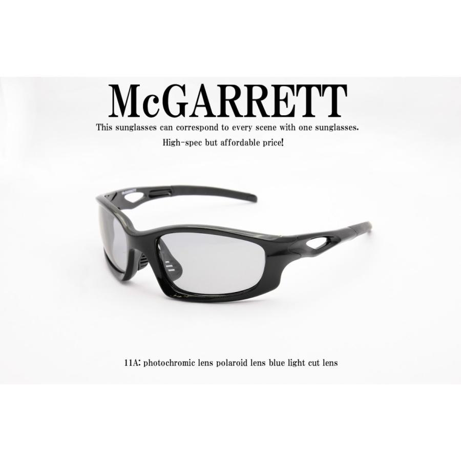 調光サングラス 偏光機能付き McGARRETT マクギャレット 11A mcgarrett