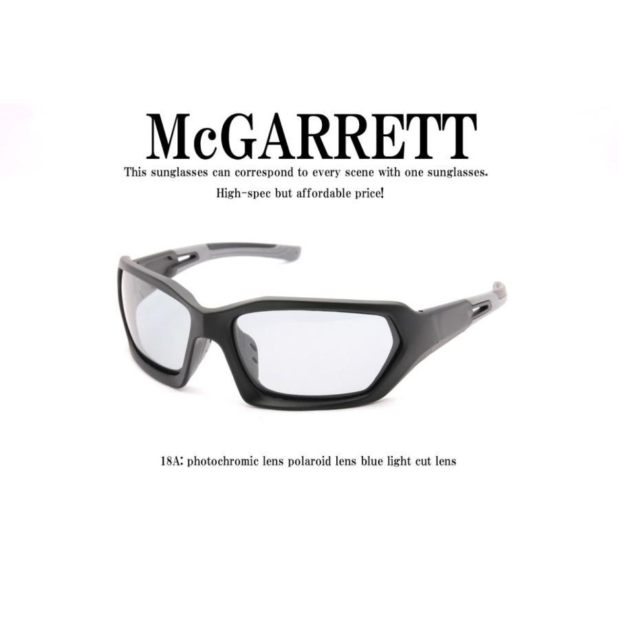 調光サングラス 偏光機能付き McGARRETT マクギャレット 18A|mcgarrett