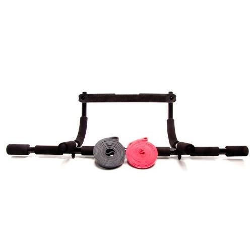 Rubberbanditz and Bar Kit - Medium, Heavy Bands - 20 - 85 lbs (9 - 39 kg)