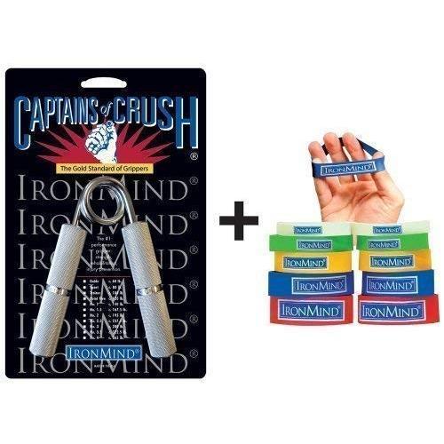 【一部予約!】 双方向COCグリップセット: COCトレーナーGripper and expand-your-hand Bands, レアリーク 2bff0023