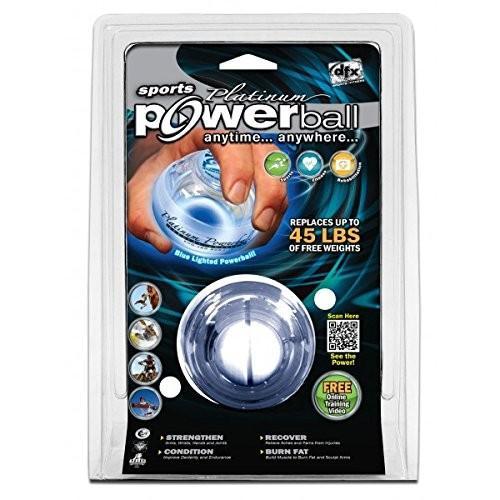 2019新作モデル Dynaflex Platinum LED手Strengtheners Powerball, だんだら 50b9dd93