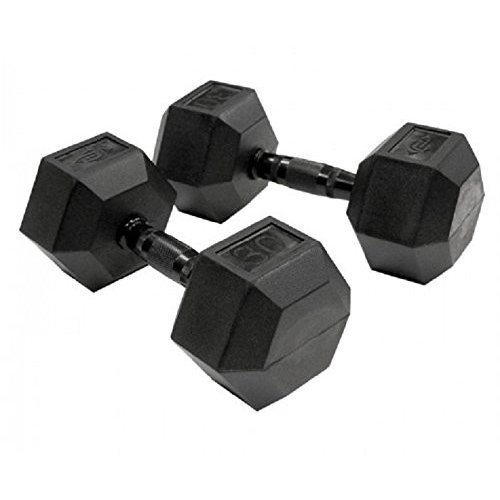 Unified Fitness要素セット1*Virginゴム六角ダンベル5***25lbs