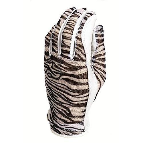 【2019正規激安】 Evertan Women 's Tan Throughゴルフグローブ: Zebra***Medium Left Hand, 質ブティック ぎゃらりー妙心 15079b30