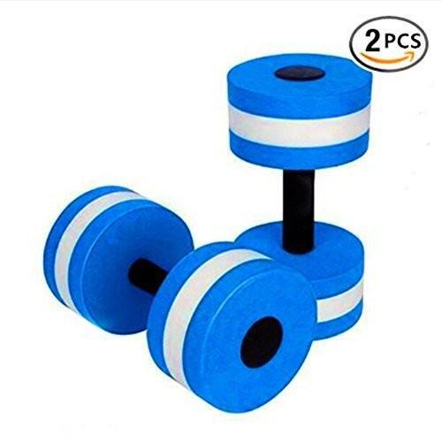 (青) - BigBoss Sports Aquatic Exercise Dumbbells Aqua Fitness Barbells