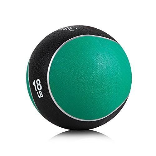 100%安い PROMIC Medicine Ball (2lb-22lb)、頑丈なゴム構造快適Texturedグリップfor強度トレーニング, モバラシ 220c3ad5