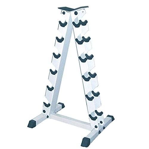 【年中無休】 アポロAthletics Aフレームダンベルラック for、スチールストレージラックOrganizer 6-pair Dumbells for 6-pair Dumbells, モトスグン:08d0a57c --- airmodconsu.dominiotemporario.com