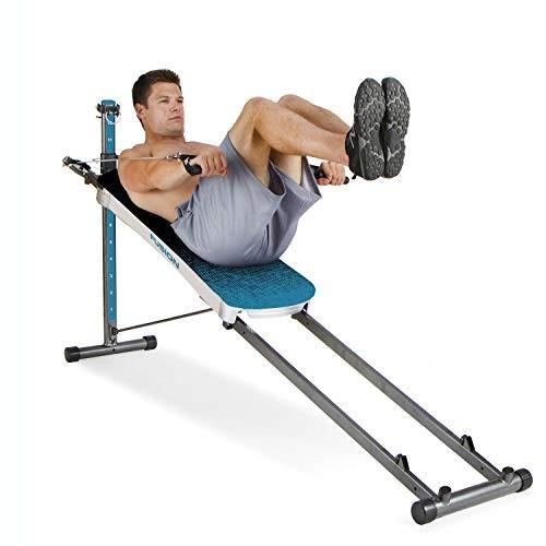 最適な材料 Total Gym Fitness Fitness Total Fusionフルボディワークアウトホームフィットネス練習マシン Gym、ティール, シマネチョウ:9f77f3e2 --- airmodconsu.dominiotemporario.com