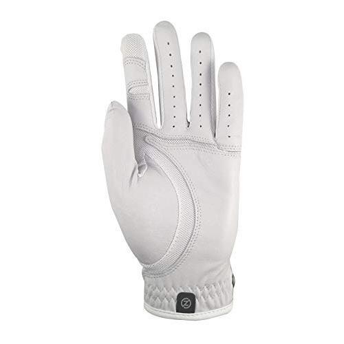 【使い勝手の良い】 Zero Friction メンズ Cabretta Elite ゴルフグローブ 2枚パック ティーパック付き ユニバーサルフィット, 35歳からのパール 松本宝飾 eaec2062