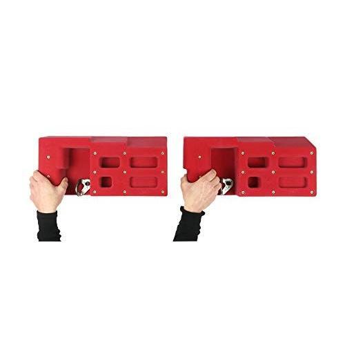 大割引 Atomik グリップトレーニングハンギングボード (3列)   クライミングホールド   レッド - グリップと前腕トレーナー, 住友三井オートサービス株式会社 c42a4013
