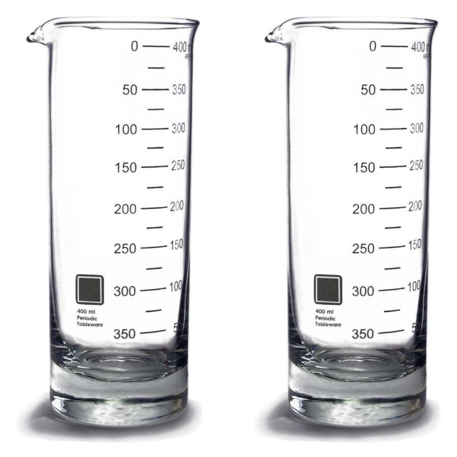 ビーカーハイボールグラス(2個) Periodic Tableware measureworks