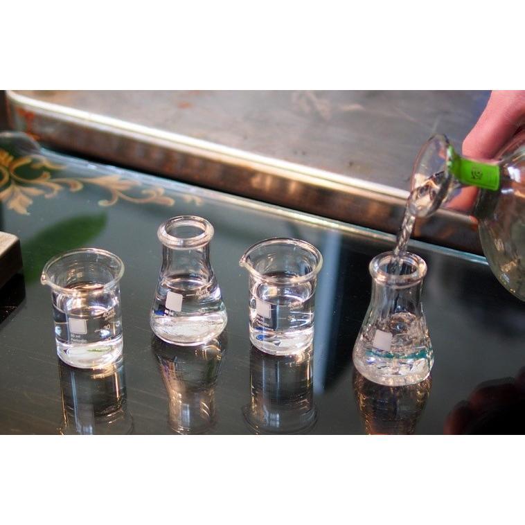 ラボラトリーショットグラス(4個) Periodic Tableware measureworks 02