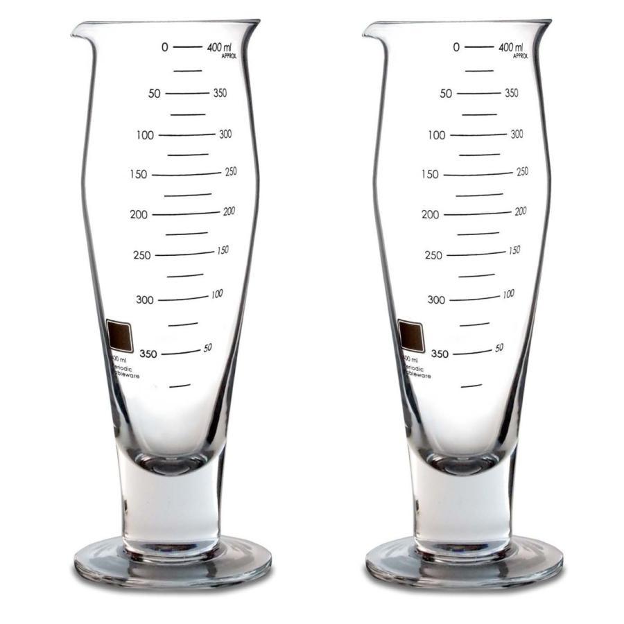 ビーカーピルスナーグラス(2個) Periodic Tableware measureworks